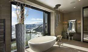 len badezimmer framed to perfection 15 bathrooms with majestic mountain views