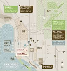 Balboa Park Map San Diego by Directions Currant American Brasserie 619 702 6309 140 W