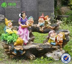 professional factory for resin snow white and the seven dwarfs