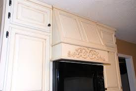 Molding On Kitchen Cabinets Remodelaholic From Oak Kitchen Cabinets To Painted White Cabinets