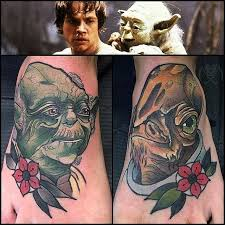 unleash the force with these 45 star wars tattoos tattoodo