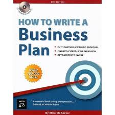 how to write a business plan by mike p mckeever