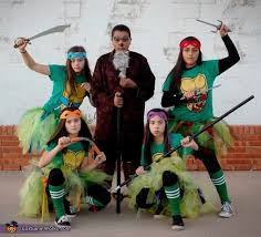 Ninja Turtle Halloween Costumes Ninja Turtles Splinter Group Halloween Costume