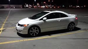 09 honda civic rims 2009 taffeta white civic si hfp
