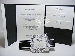 Any Ideas For Dinner Wedding Invitation Pocket Fold Ideas For Dinner