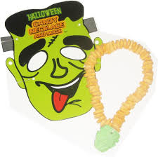 frankenstein mask halloween candy necklace sold out