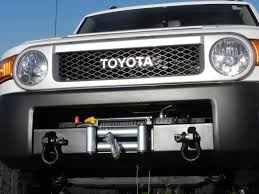 Fj Cruiser Roof Rack Oem by Toyota Fj Oem Bumper Winch Mount Fj Cruiser Pinterest Toyota