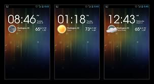 clock and weather widgets for android weather clock widget images