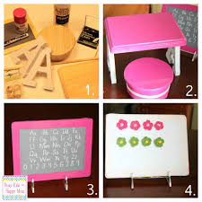 how to make your own american doll furniture