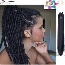 faux locs crochet braids 14 inch 18 inch faux locs freetress
