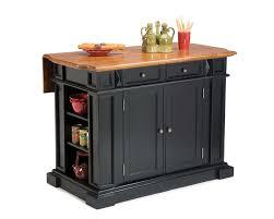 alexandria solid black granite top kitchen island in black in