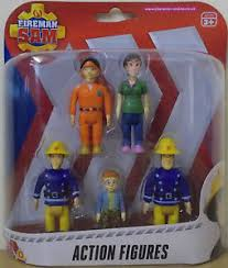 fireman sam action figures 5 pack elvis dilys norman pilot