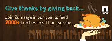 give thanks by giving back join zumasys zumasys