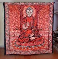 American Flag Tapestry Wall Hanging Indian Cotton Queen Batik Buddha Wall Hanging Tapestry Bedspread