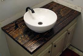 making a vanity top how to install a bowl sink michael build