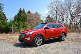 2013 hyundai santa fe limited review 2013 hyundai santa fe limited awd front 7 8 left