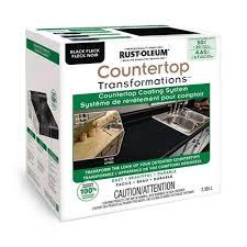 rust oleum countertop transformations countertop coating system