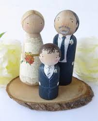 cake toppers for wedding custom wedding cake topper wooden cake