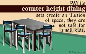 a definitive look at the pros and cons of counter height tables