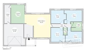 plan de maison 120m2 4 chambres plan maison plain pied 120m2 4 chambres particulièrement élégant