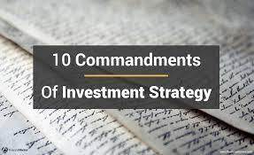ten resume writing commandments 10 commandments of investment strategy