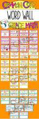 freebie fourth grade common core math vocabulary word wall cards
