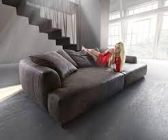 polsterm bel designer ultsch polstermöbel big sofa kingsize 280x140 cm anthrazit vintage