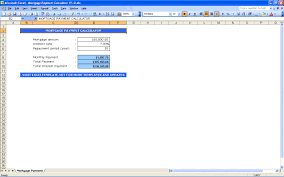 Mortgage Calculator Amortization Table by Amortization Schedule Calculator Excel Templates