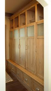 Mudroom Cabinets by Mullet Cabinet U2014 Knotty Hickory Mud Room