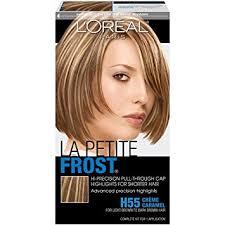 top overcounter hair highlighter amazon com l oréal paris le petite frost cap hair highlights for