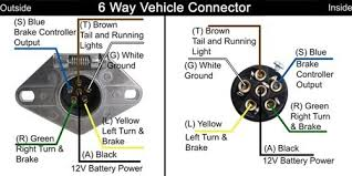 trailer wiring diagram 6 pole round google search projects