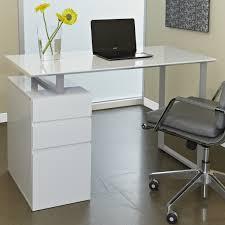 White Gloss Office Furniture by Modern Small Computer Desk Best White Corner Desk Tikspor