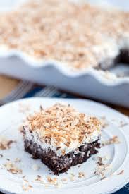Halloween Poke Cake by Chocolate Coconut Cream Poke Cake Yellow Bliss Road