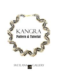 necklace pattern images Kangra crescent bead spiral necklace pattern tutorial jpg