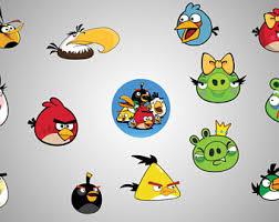 angry birds etsy