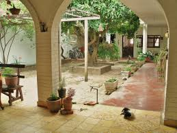 spanish style homes with interior courtyards christmas ideas