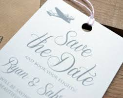 save the date luggage tags travel luggage tag save the date printable travel theme save