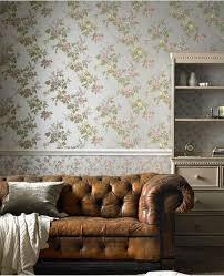 wallpaper for livingroom 20 living rooms with beautiful floral wallpaper rilane
