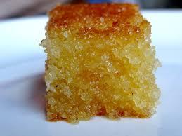 gateau cuisine basboosa soudan gâteau de semoule au sirop la tendresse en