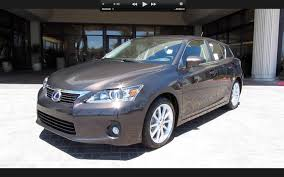 lexus ct or toyota prius 2011 lexus ct200h start up engine and in depth tour youtube