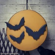 bat u0026 moon door hang bats moon and doors