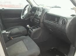 jeep patriot 2010 interior non repairable 2010 jeep patriot 4dr spor 2 4l 4 for sale in lebanon