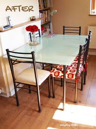 Replacement Glass Table Tops For Patio Furniture by Painting A Glass Table Top Glass Table Glass And Glass Table Top