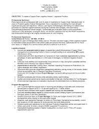 Sample Resume Logistics by Cv Supply Chain Logistics Manager Resume Templates Cv Job