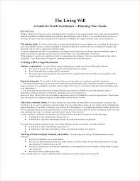 11 living will sample academic resume template singapore forms