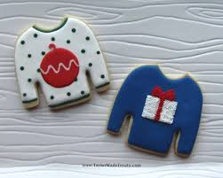 gnarly knitted numbers ugly christmas sweater cookies u2013 taylor