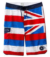 Mens Flag Shorts Rip Curl Men U0027s Pacific Paradise Boardshorts At Swimoutlet Com