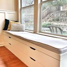 Outdoor Storage Bench Seat White Storage Bench With Seat Ikea Stolmen Window Seat Cushion