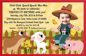 farm birthday invitations cimvitation