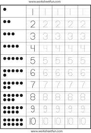 Free Printable Worksheets For Preschool Teachers Tons Of Tracing Number And Letter Practice Ideas For The House